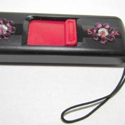 USB Thumb Drive - Sandisk Cruzer (8 gb) w/Flowers - Swarovski Crystals